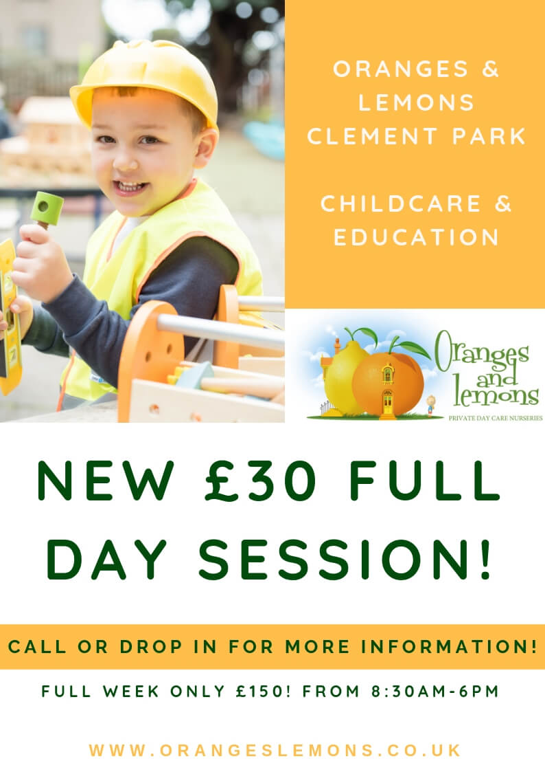 Clement - £30 Rate Flyer