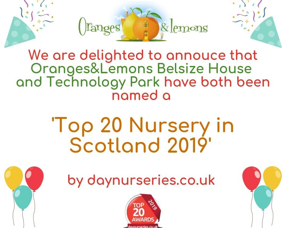 Top 20 Nurseries in Scotland